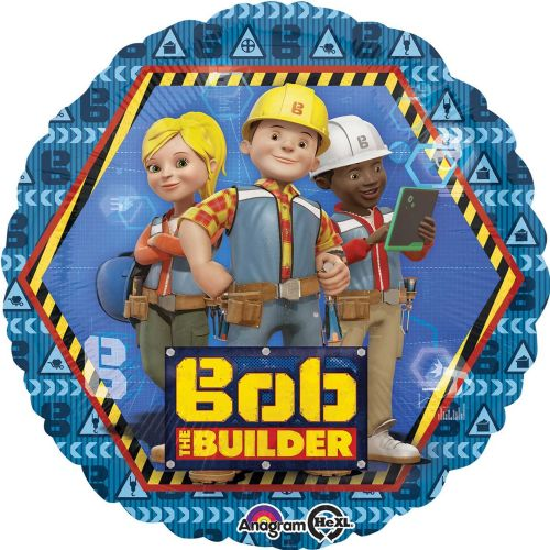 "18"" Bob the Builder Standard Foil Balloons"